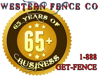 Western Fence Co. Utah - Over 65 Years in Business