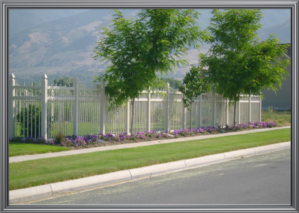 Vinyl Western Fence Co